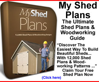 My Shed Plans 478