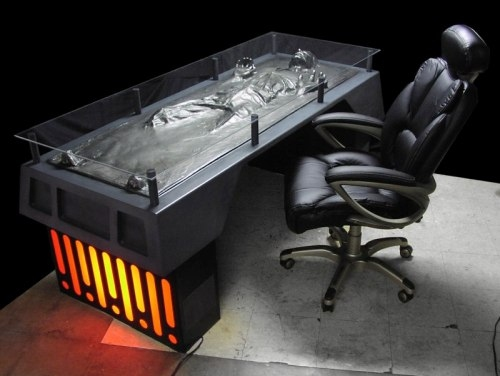 The Official Han-Solo-Frozen-in-Carbonite Desk