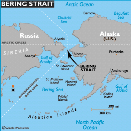 Putin Proposes Tunnel from Russia to Alaska