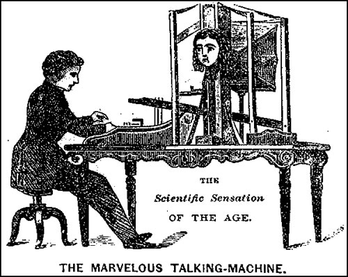 Joseph Faber's Amazing Talking Machine of 1845