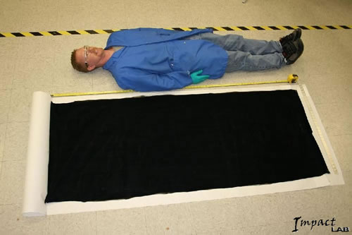 Large Sheets of Carbon Nanotubes Produced