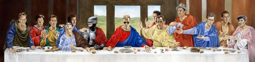 James Wood Last Supper