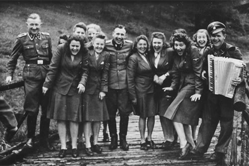 Laughing at Auschwitz