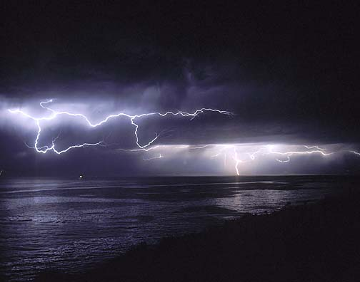 Laser Used to Trigger Lightning in a Thunderstorm