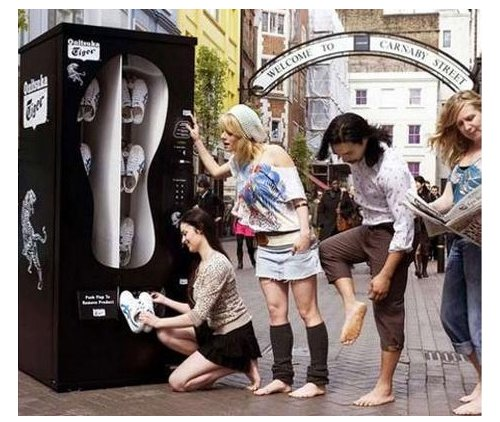 This is a concept just dying to run rampant across the streets of NYC ...