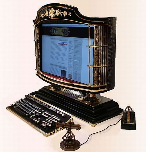 The Ultimate Steampunk Computer
