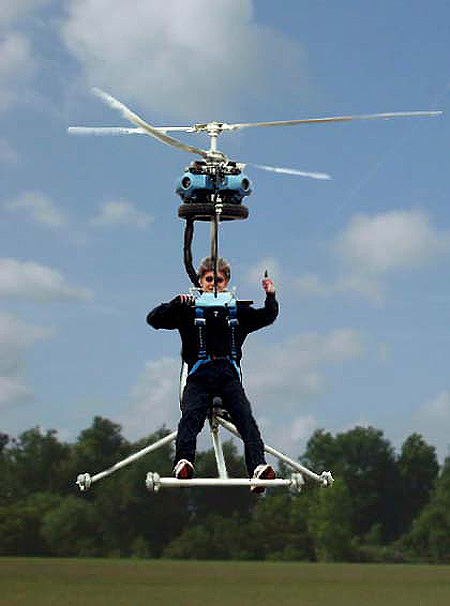 The World's Smallest Co-Axial Helicopter