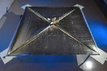 Satellite Propelled By Solar Sails