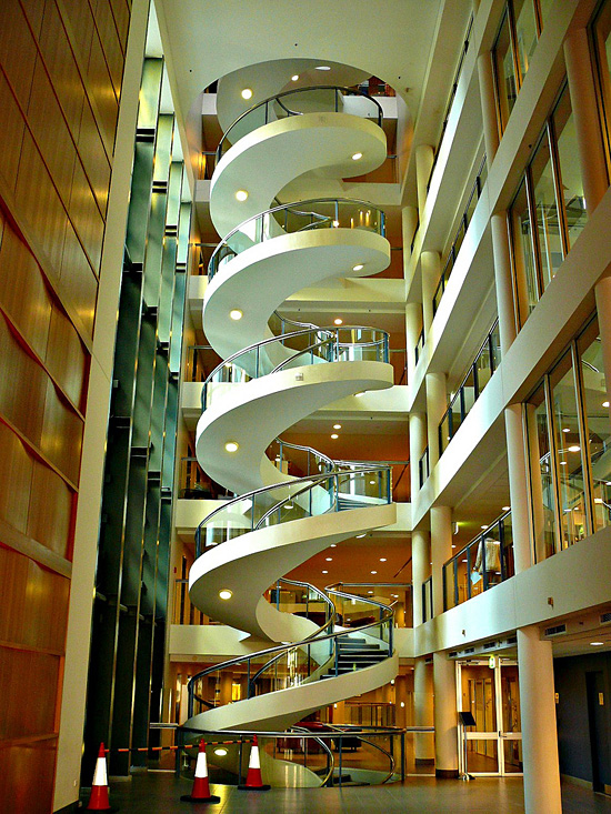 The Ultimate Spiral Staircase