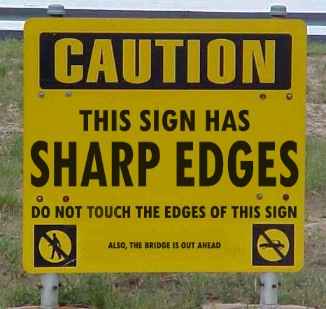 Funny And Effective Signs   Impact Lab