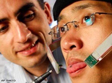 Mouth Becomes Virtual PC For Disabled