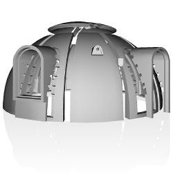 Styrofoam Dome japan's styrofoam dome homes | impact lab
