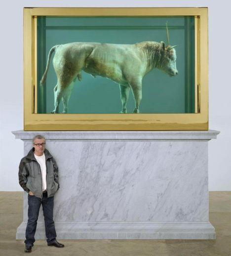 Damien Hirst Sets New Art World Record