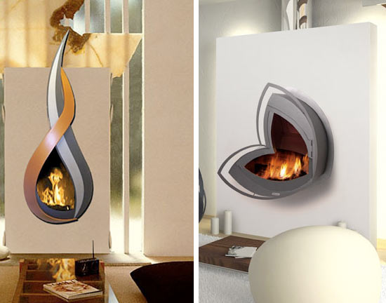 Wall Mounted Fireplaces | Impact Lab