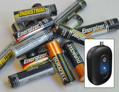 The Battery-Powered Battery Charger