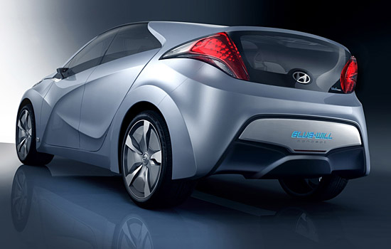 Hyundai's BLUE-WILL Plug-In Hybrid