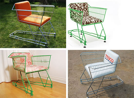 Shopping Cart Furniture Curbside Connections