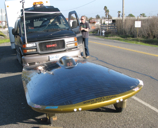 Solar Car Breaks World Distance Record