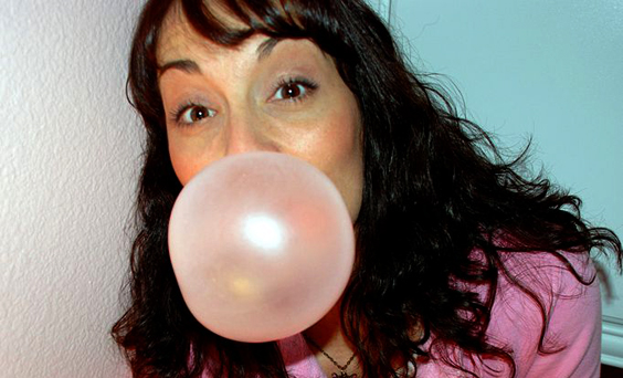 Chewing Gum Reduces Stress
