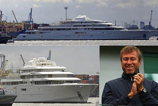 Russian Billionaire Launches His $350 Million Mega Yacht