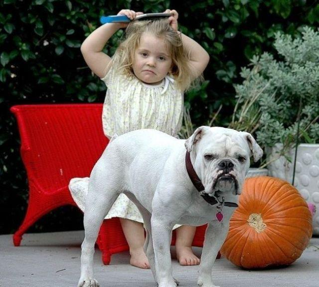Remarkable Photos Of Kids And Their Pets