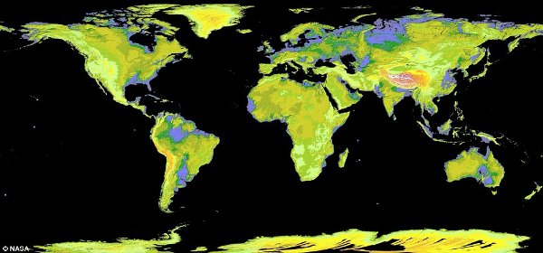 Nasa Satellite Map Earth