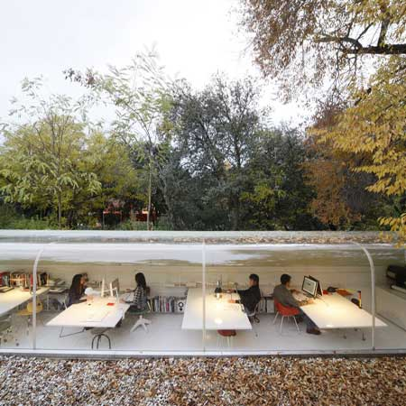 Awesome Office In The Woods By Selgascano Impact Lab
