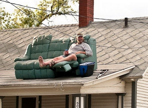 Roof Couch Potato 483