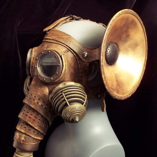 Steampunk Elephant Mask 790