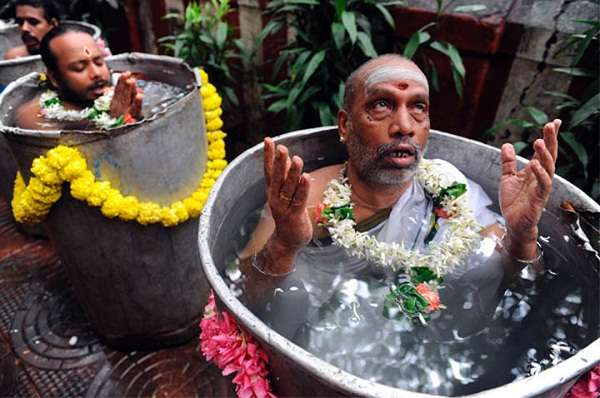 Ceremonial Bucket Bath 392