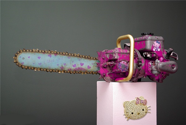 Hello Kitty Chainsaw 229