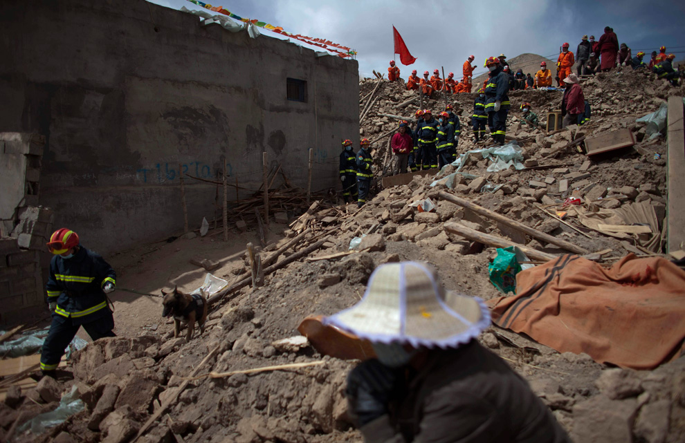 Earthquake in Tibet 009