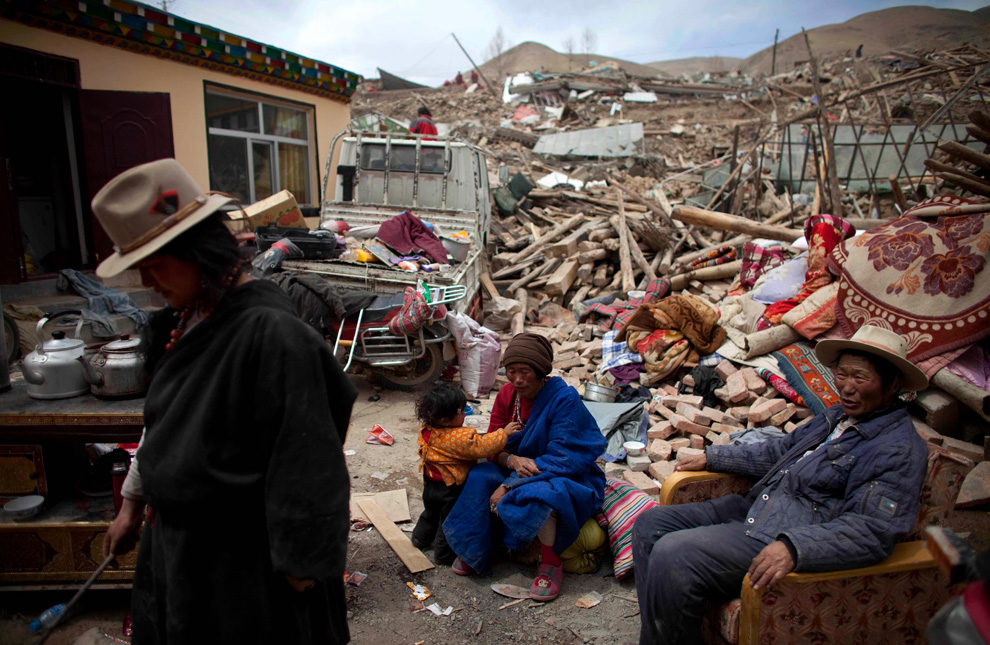 Earthquake in Tibet 033