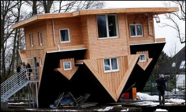 Upside Down House 030