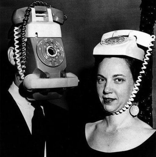 Mr & Mrs Telephonehead 332