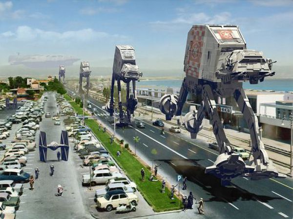 Star Wars Traffic 782