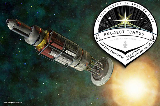 "project icarus Officially named ""project icarus: son of daedalus – flying closer to another star"", this project was initially discussed in 2008 [."