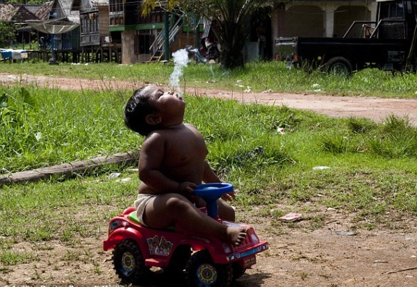 smoking toddler 3