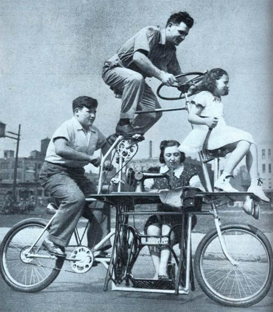 Family Sewing Bike 401
