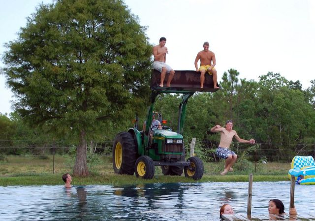 Farm Diving Board 893