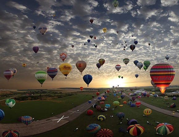 Hot Air Balloons 802