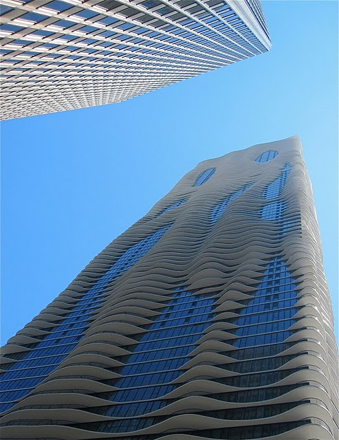 aqua tower building chicago architecture 5