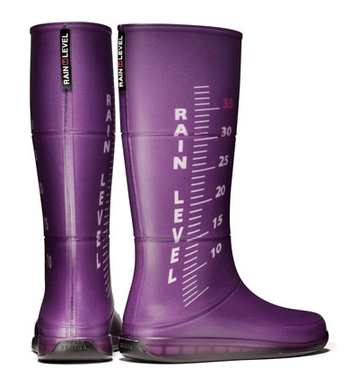 rain level boots purple 23432432