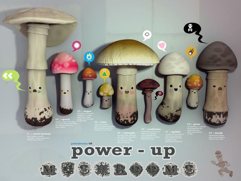 mushroom power up