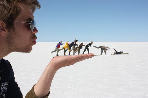 Forced perspective 34