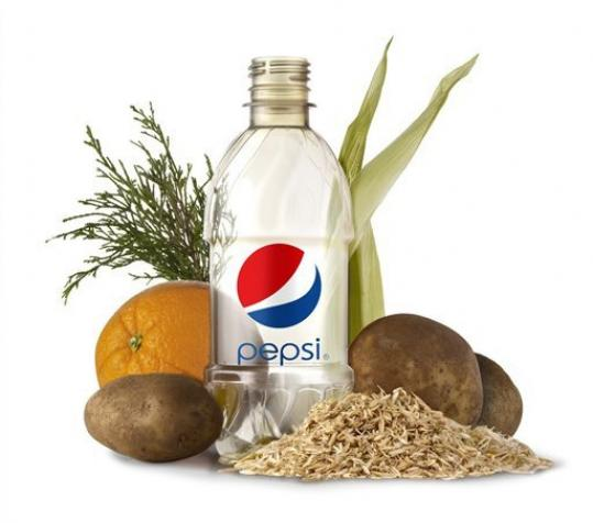 pepsico plant based bottle
