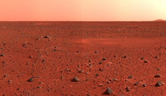 surface of Mars