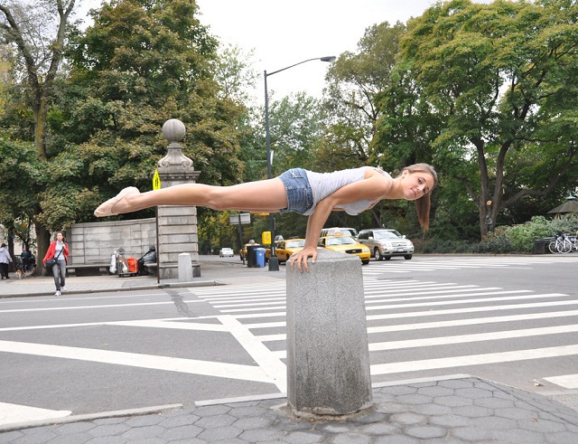 This is how planking should be done 076