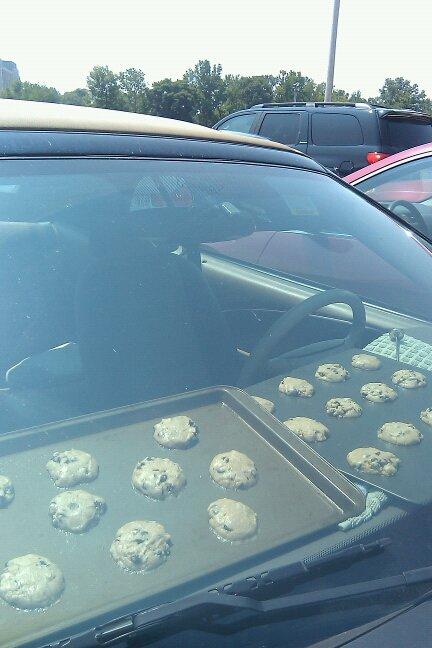 cookies car cooking