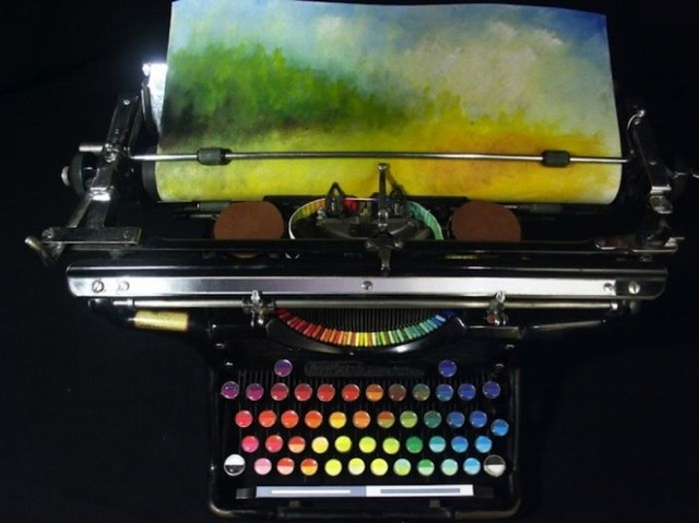 Typing a Masterpiece 782